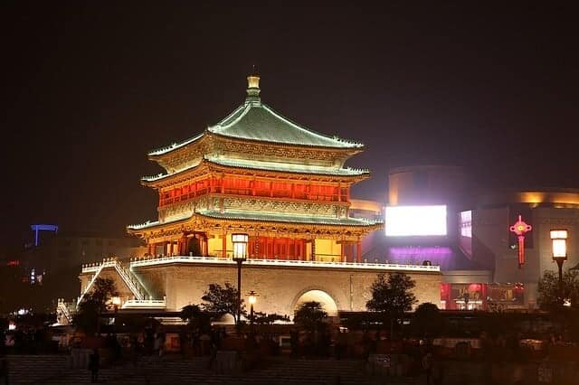 Tourist Sights in Xi'an
