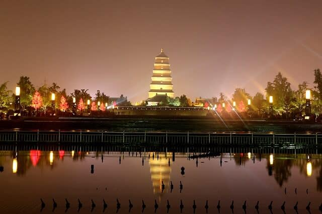 tourist attractions in Xian