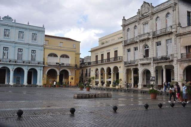 Havana Cuba Points of Interest - Plaza Vieja