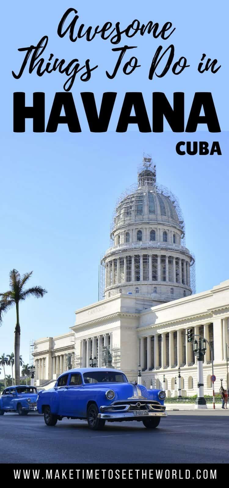 Points of Interest in Havana Cuba