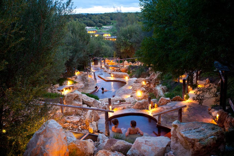 (c) Peninsula Hot Springs