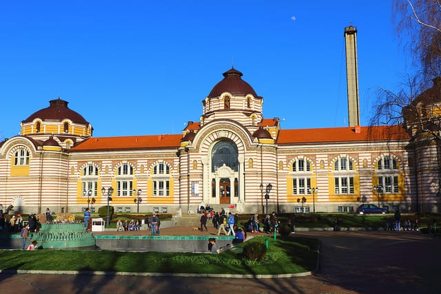 Sofia History Musuem - Old Mineral Baths - City breaks