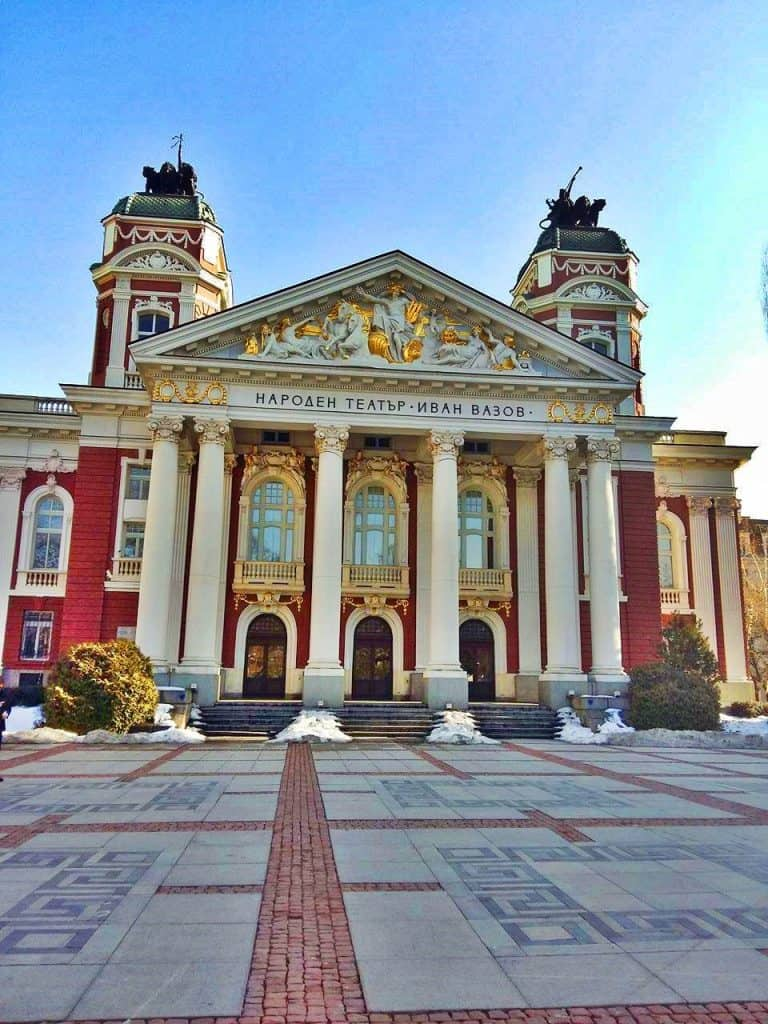 Things to do in Sofia - National Theater