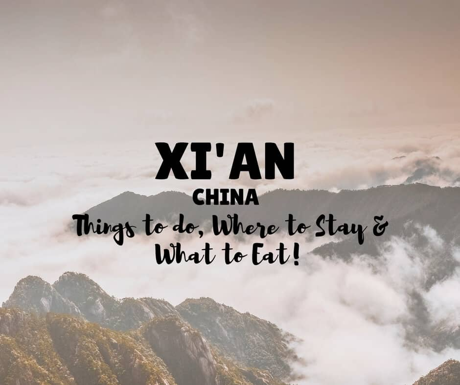 Things To do in Xi An