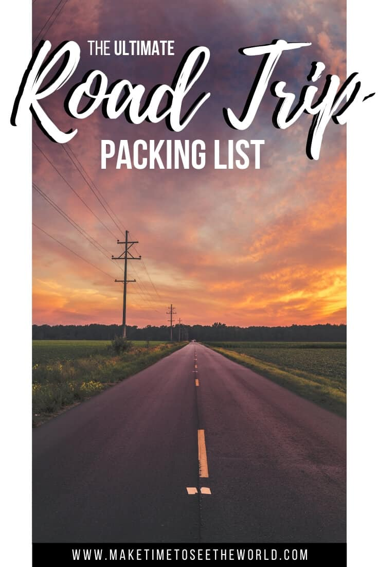 Ultimate Road Trip Packing List