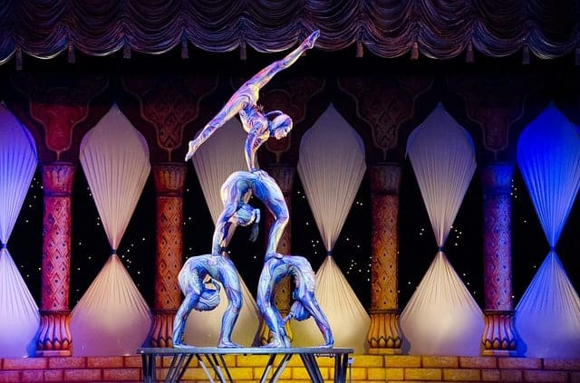 Best Things to do in Vegas - Cirque du Soleil