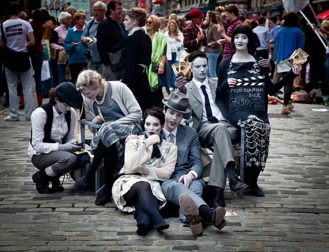top things to do in edinburgh - Fringe Festival