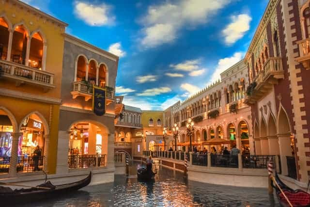 Gondola at the Venitial - Top thing to do in Las Vegas