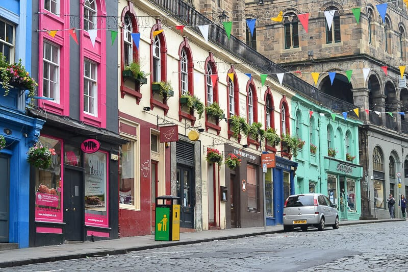 Weekend in Edinburgh