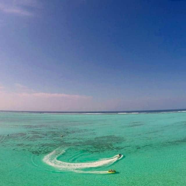 Watersports in the Maldives