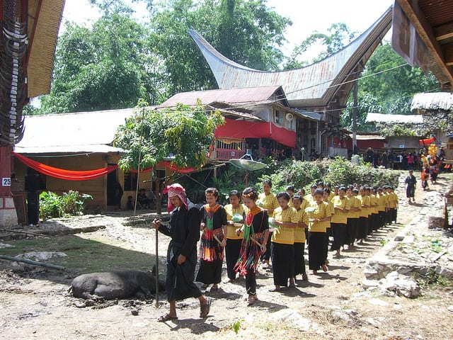 Toraja Funeral Procession