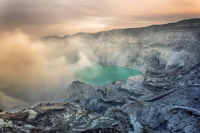 Ijen Volcano Sulfur Lake