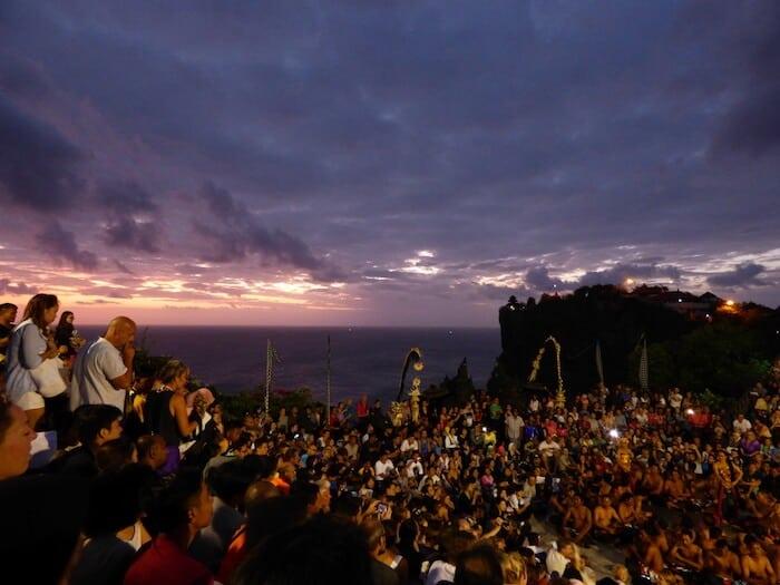 Places to visit in Bali Indonesia - Uluwatu Temple