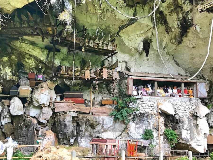 Londa Cave Burial Site in Toraja, South Sulawesi