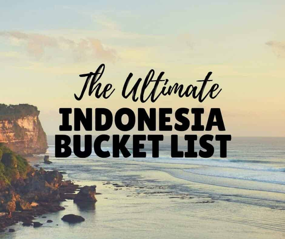 The Best Places to Visit in Indonesia! (inc. a map & photos!)