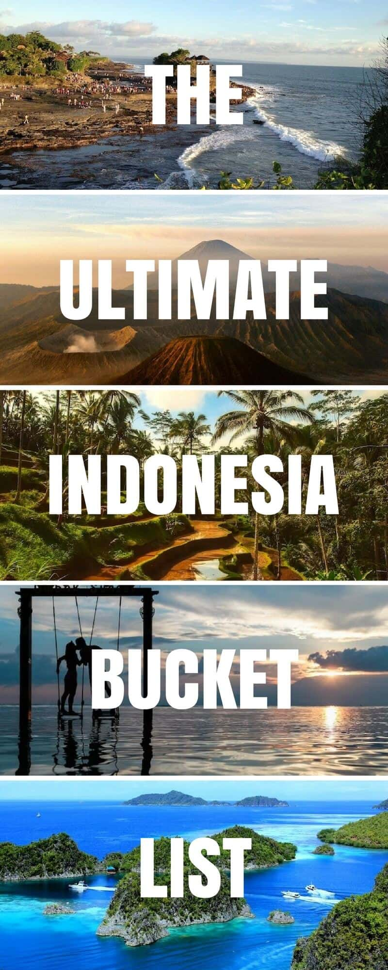 Tourists Attractions in Indonesia