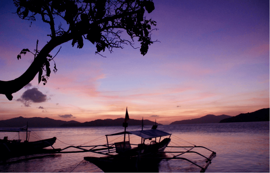 Palawan what to see - Incredible Sunsets in El Nido Philippines