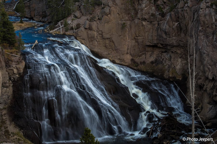 Gibbon Falls Waterfall Yellowstone National Park Things to do