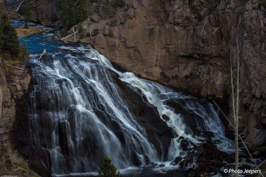 Gibbon Falls Waterfall Yellowstone National Park Things to do