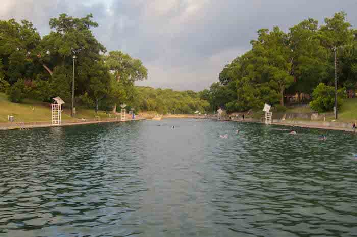 An austin texas points of interest is the Barton Springs Pool