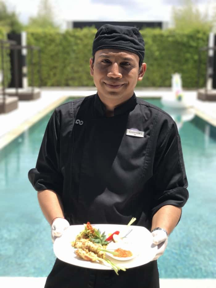 The Chef at eqUILIBRIA