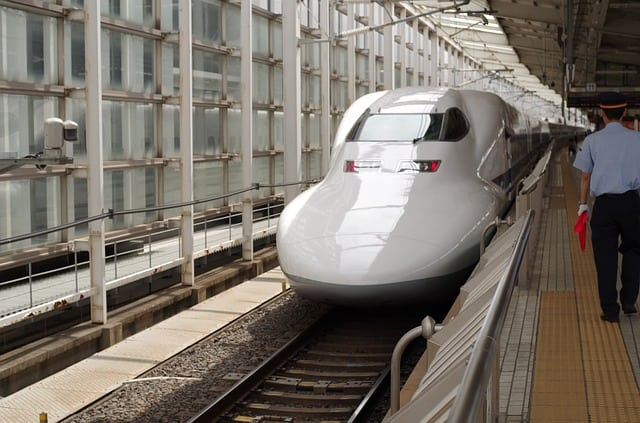 Best Sights in Kyoto - the Bullet Train