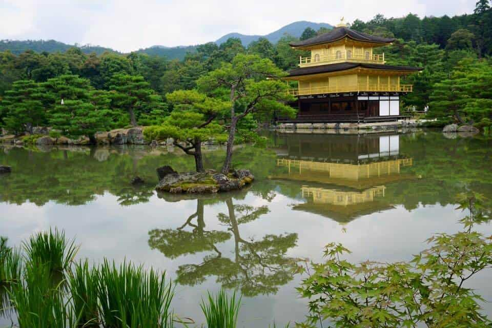 Kyoto Highlights - - the Golden Temple