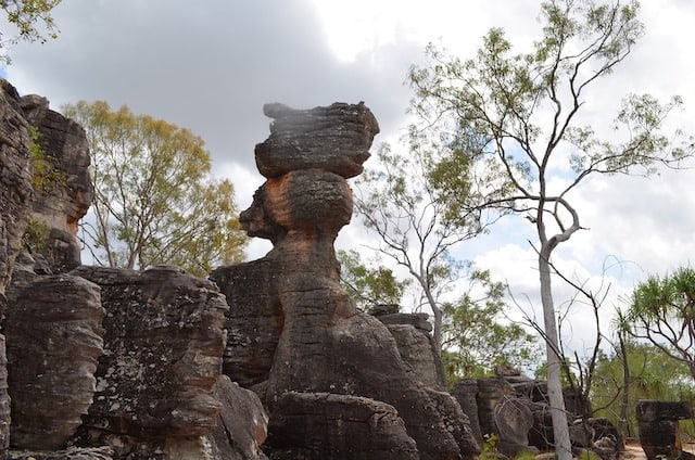 Rocky Outcrop in Licthfield National Park