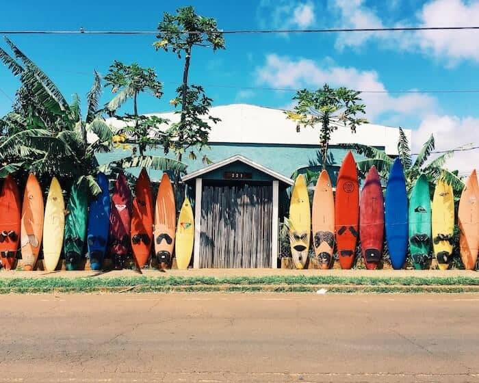 Surf Boards in Hawaii
