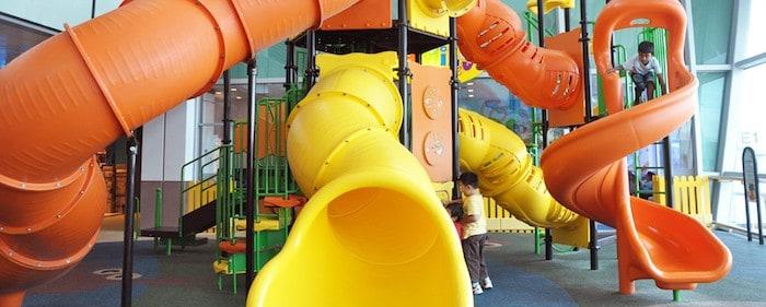 Changi Airport Kids Playgrounds