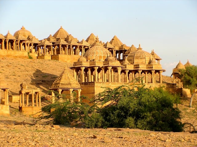 bada bagh is a major tourist attraction in jaisalmer