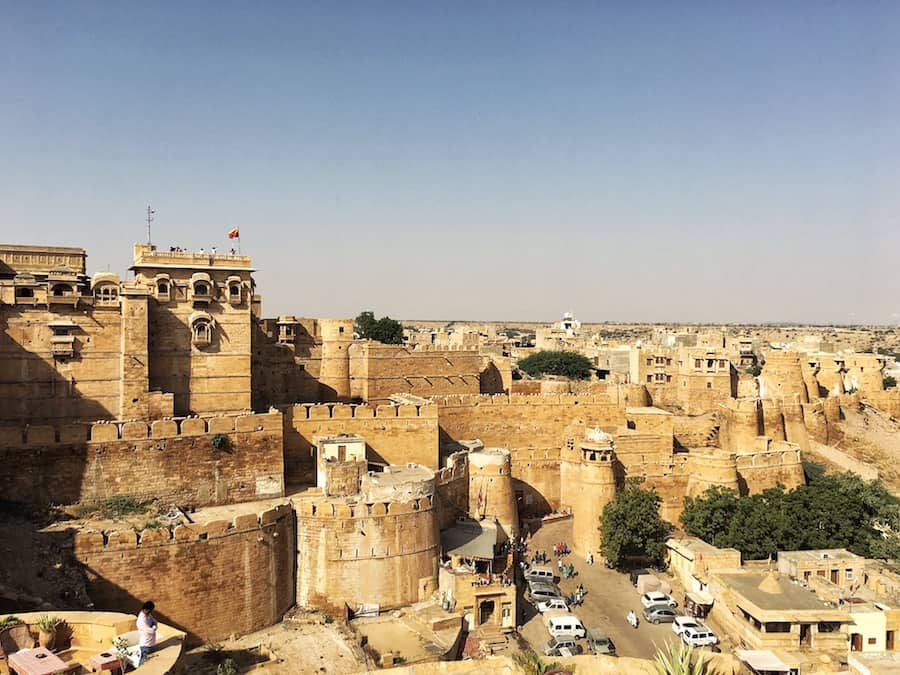 View of Jaisalmer Fort