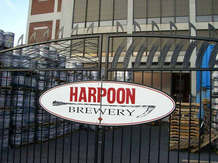 Harpoon Brewery Boston