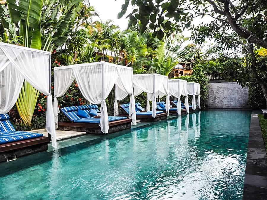 The Elysian Villa hotel- where to stay in Seminyak