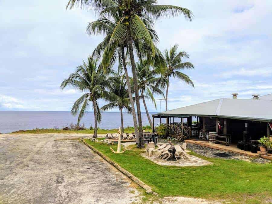 The Golden Bosun Christmas Island