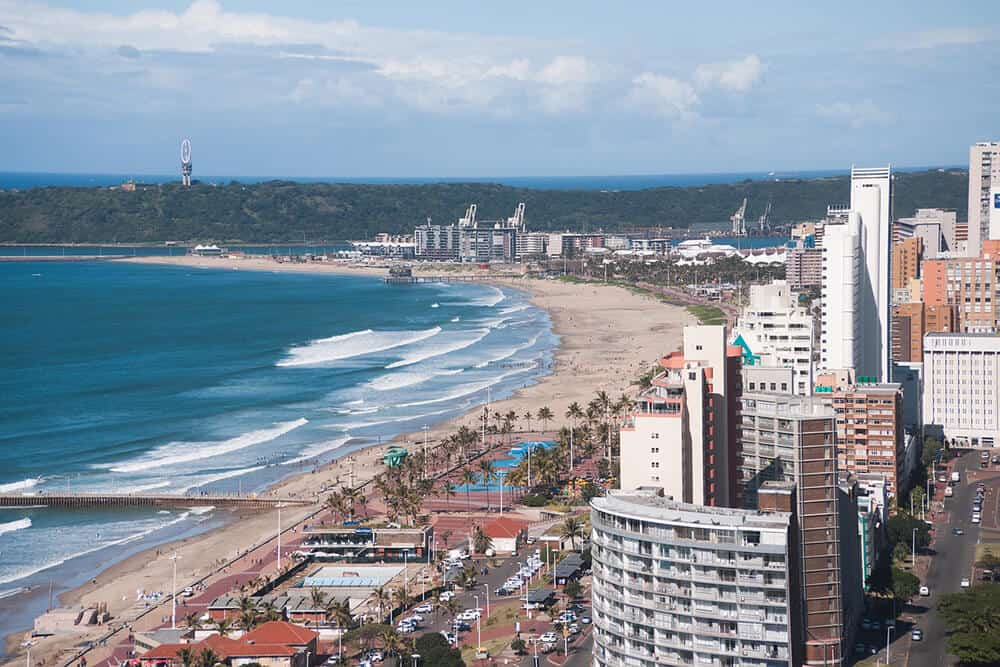 durban is cape towns smaller and lesser visited sister city