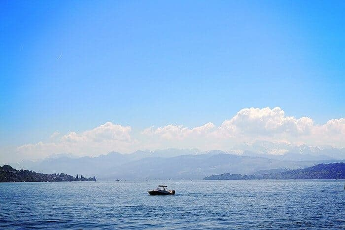 Zurich Lake Switzerland