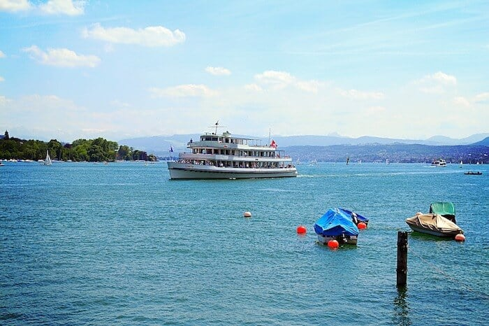 Boat Ride on Zurich Lake