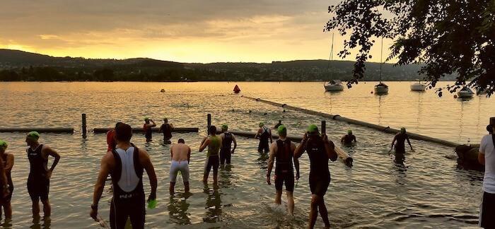 Swimming in Zurich