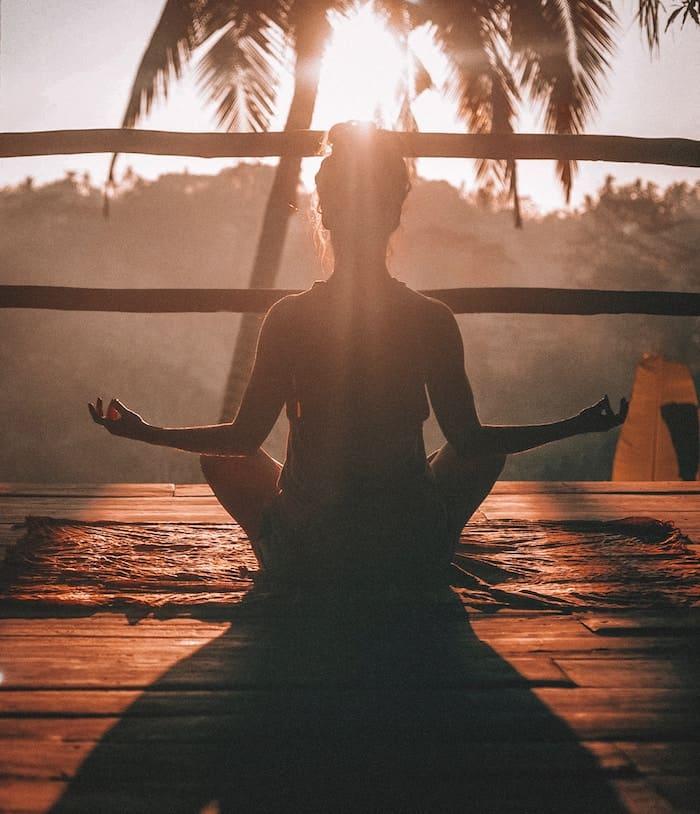 Ayurveda Retreat Sunset Yoga