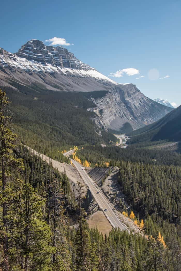 Alberta attractions - the Icefields Parkway