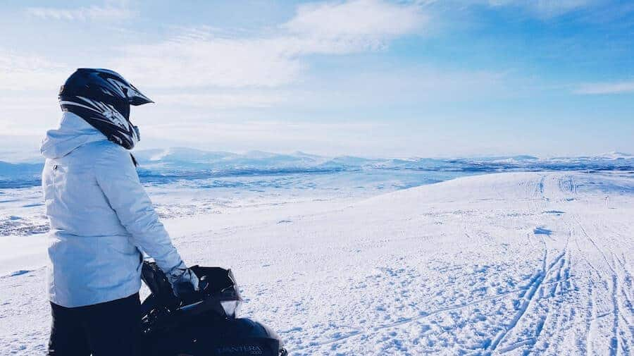 Snowmobile from Gulfoss with day tours Iceland