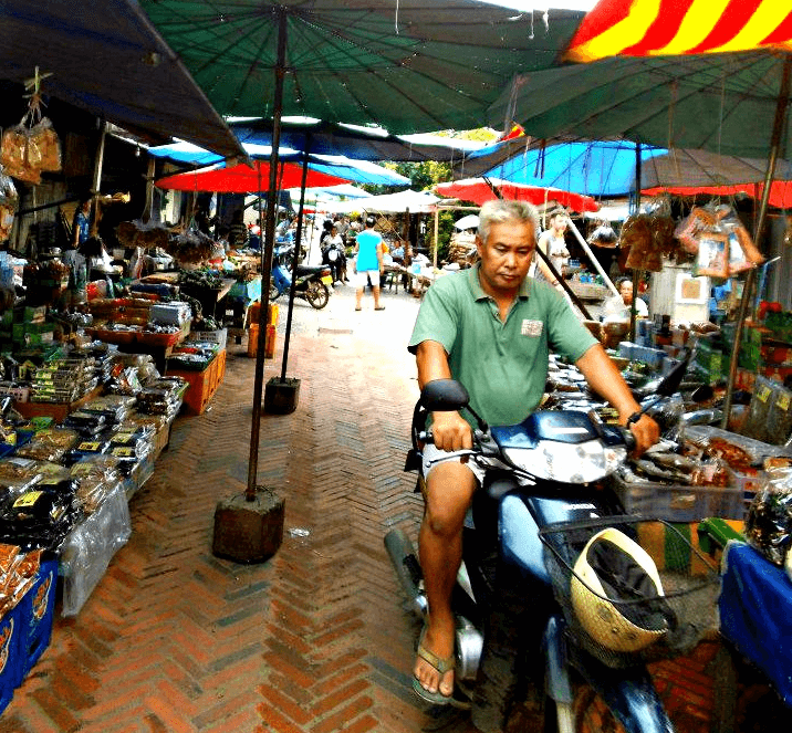 Things to do in Luang Prabang - visit the morning market