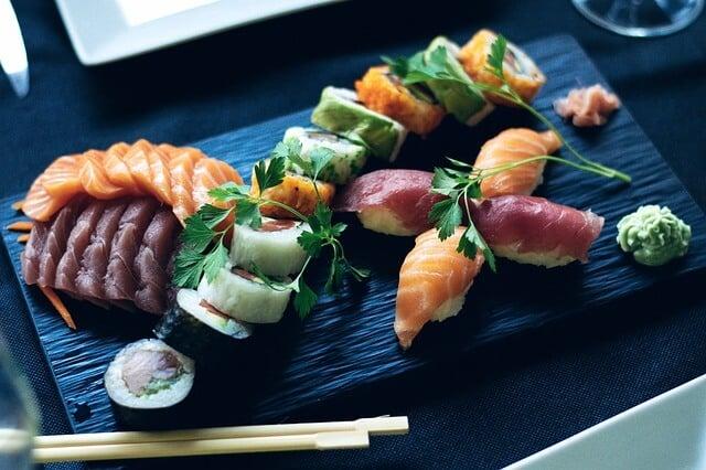 Eat Sushi in Tokyo Japan