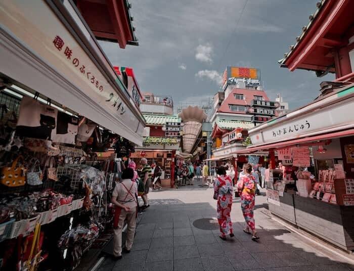 Nakamise Dori Tokyo Japan