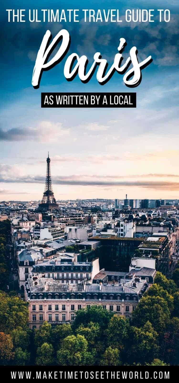Paris Itinerary 3 Days in Paris