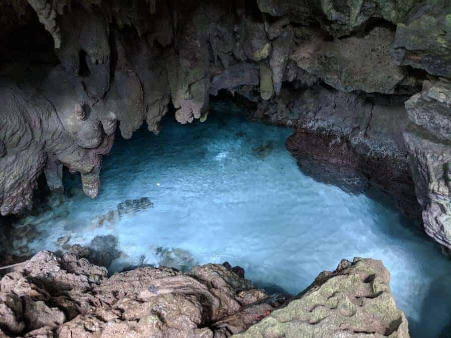 The Grotto on Christmas island