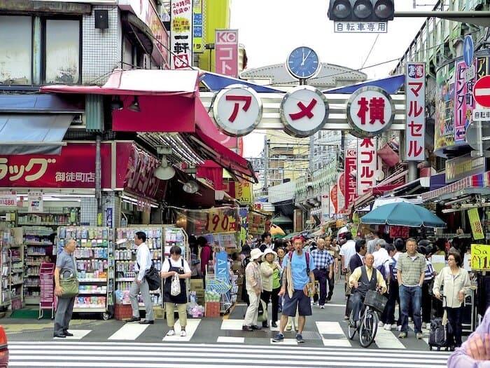Tokyo Sightseeing - Ame Yokocho
