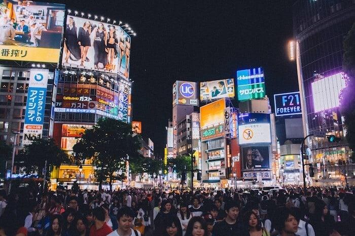 Tokyo Tourist Attractions - shibuya crossing
