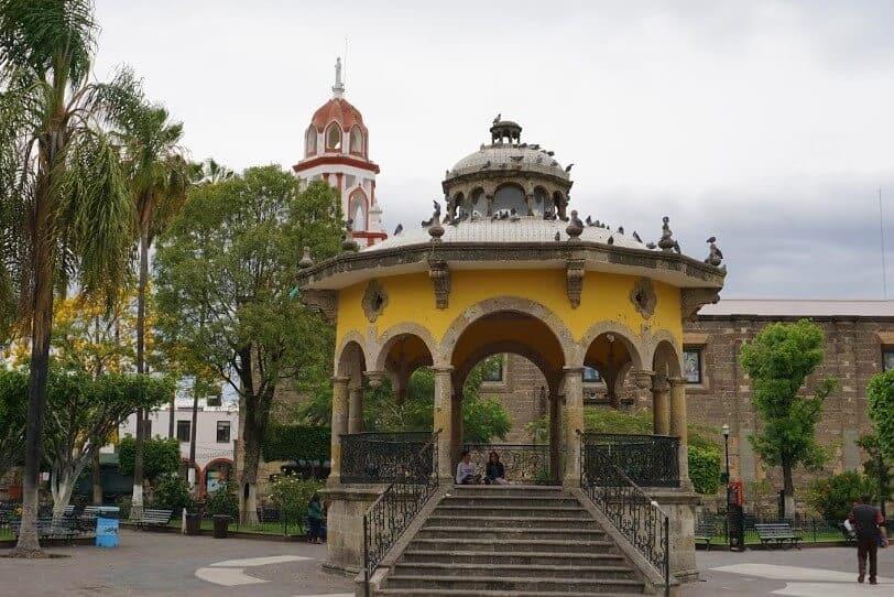 Gazebo in Jardin Hidalgo